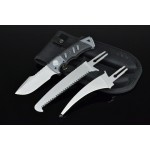 3362 interchangeable knives survival kit set
