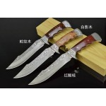 3881 damascus steel collectible knife