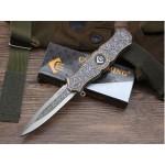 440 Stainless Steel Blade Metal Handle Liner Lock Folding Blade Knife Pocket Knife5863