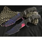 5Cr15MoV Steel Blade Reinforced Plastic Handle 3D Printed Finish Fixed Blade Knife
