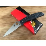 CPMS30V Steel Blade Plastic Handle Satin Finish Liner Lock Folding Blade Knife Pocket Knife6001